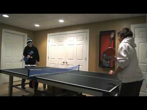 Hardcore Ping Pong (Slender: The Film – Blooper)